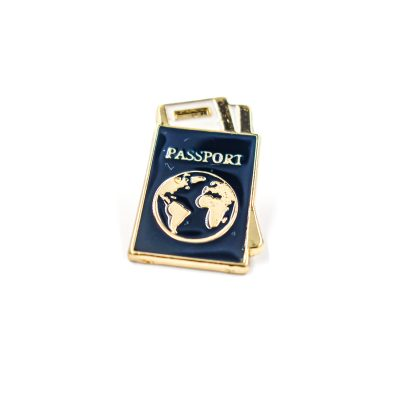 Adventure awaits passport Enamel Pin Gift