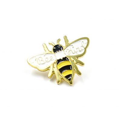 Bee kind Save the bees Enamel Pin Gift