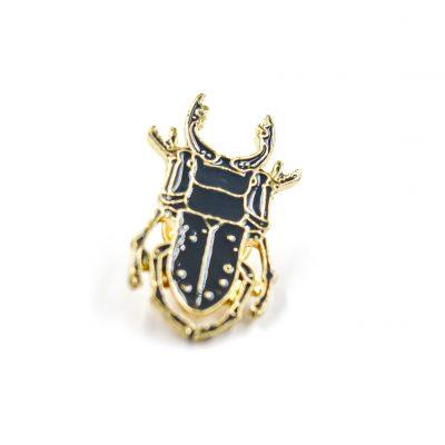 Beetle Enamel Pin Gift