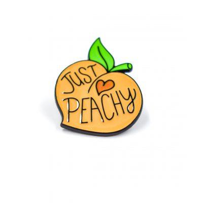 Just Peachy Enamel Pin Gift