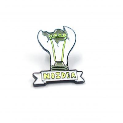 Lightbulb No iDea Enamel Pin Gift