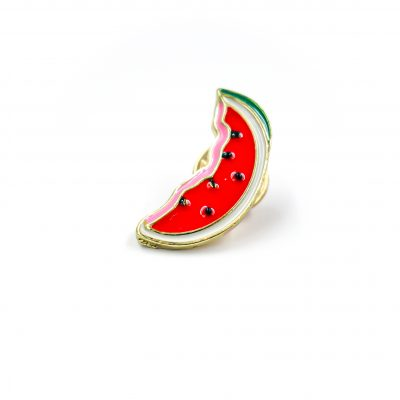 Watermelon one in a melon Enamel Pin Gift