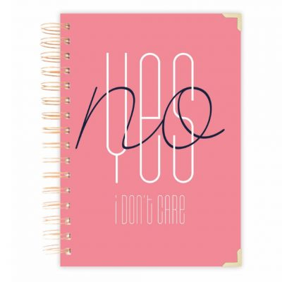 notebook journal pink diary
