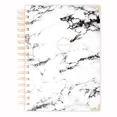 marble diary journal A5 size
