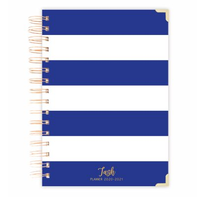 striped A5 diary journal A4 size notebook