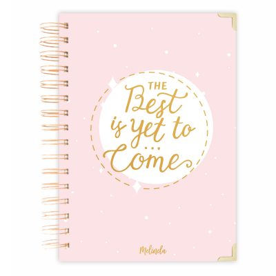 pink diary journal A4 size