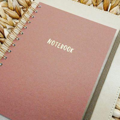 Notebook Journal Dream Journal Gold Aesthetic Notebook