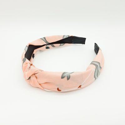 Headband Pink Headband Floral Headband Hair Accessories