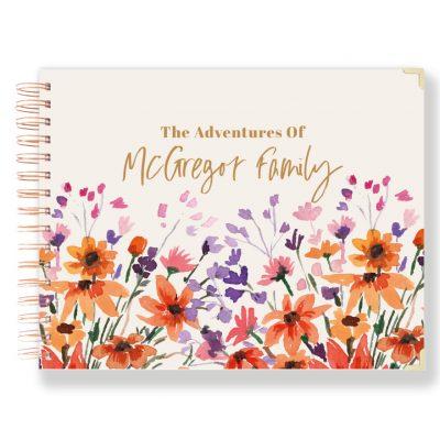 Family Photo Album Wedding Album Personalised scrapbook 4x6 Keepsake