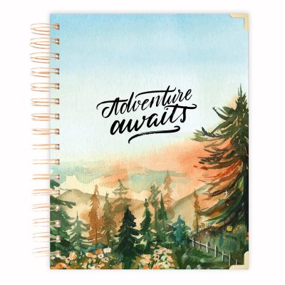 adventure awaits A5 planner 2021-2022 planner kalender tagebuch A5 diary